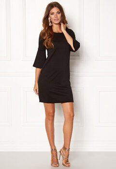 VILA Virufflesleeve Dress Black Bubbleroom.se