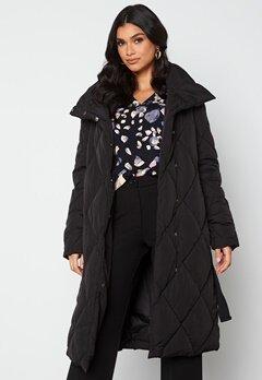 VILA Wanas Quilted Coat Black bubbleroom.se