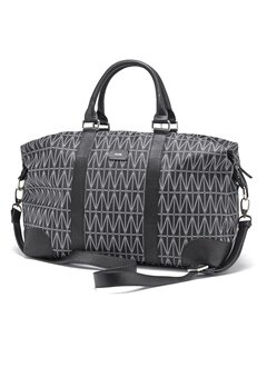 DAGMAR Weekend leather bag 999 Black Bubbleroom.no