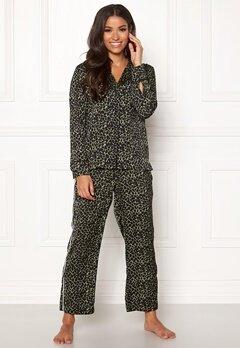 Love Stories Weekend Pyjama Pants Black Bubbleroom.se