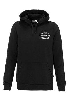 WeSC Brian hood sweatshirt Black Bubbleroom.no
