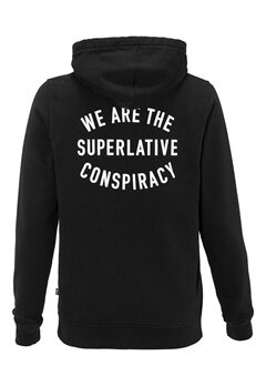 WeSC Brian hood sweatshirt Black Bubbleroom.se