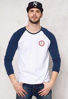 WeSC Trace l/s T-shirt White Bubbleroom.se