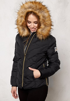 Svea Whitehorse Jacket Black Bubbleroom.fi