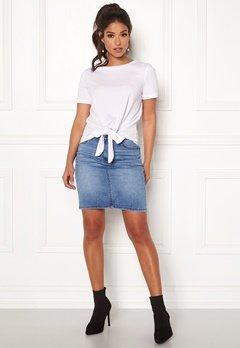 OBJECT Win New Denim Skirt Medium Blue Denim Bubbleroom.se