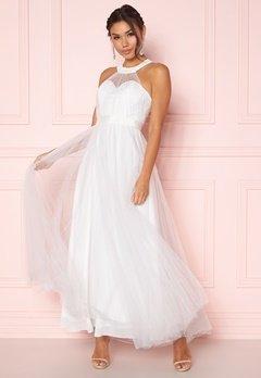 Y.A.S Wonder Halterneck Dress Star White Bubbleroom.se