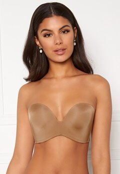Wonderbra Perfect Strapless Bra Golden tan Bubbleroom.se