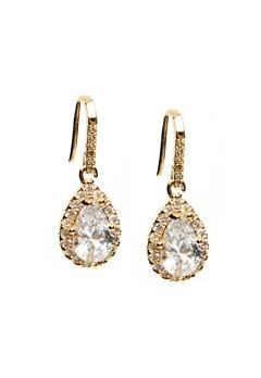 WOS Princess Bling Earrings Guld Bubbleroom.se