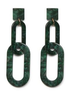WOS Tropical Earring Grön Bubbleroom.se