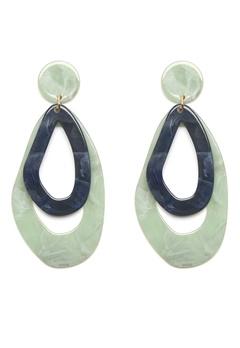 WOS Vibe Earring Grön Bubbleroom.se