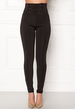 WOW COUTURE Adora Bandage Pants Black Bubbleroom.eu