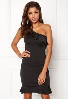 WOW COUTURE Lenore Bandage Dress Black Bubbleroom.se