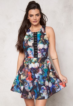 WYLDR Take it dress Multi Bubbleroom.fi