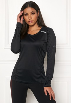 2XU XVENT L/S Top Black/Reflective Bubbleroom.se