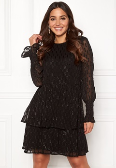 Y.A.S Adele LS Dress Black Bubbleroom.se