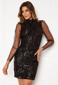 Y.A.S Ava LS Dress Black Bubbleroom.se