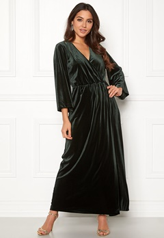 Y.A.S Balea 3/4 Ancle Dress Darkest Spruce Bubbleroom.se