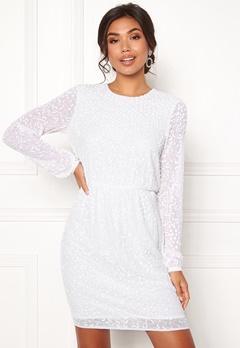 Y.A.S Beada LS Dress Star White Bubbleroom.se