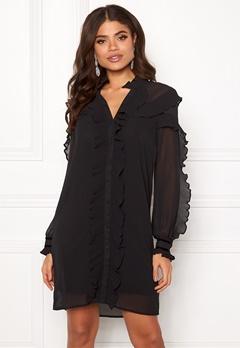Y.A.S Blissa LS Dress Black Bubbleroom.se