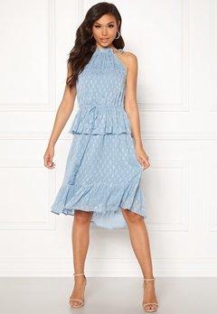 Y.A.S Cecilia Dress Alaskan Blue Bubbleroom.se