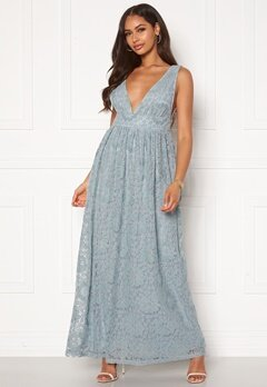 Y.A.S Cheshire SL Maxi Dress Blue Heaven Bubbleroom.se