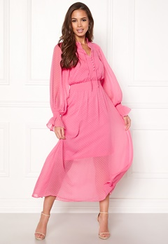 Y.A.S Debra L/S Dress Sachet Pink Bubbleroom.se