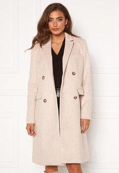 Y.A.S Essa Wool Coat Whisper Pink Bubbleroom.se