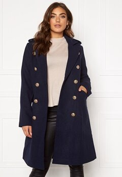 Y.A.S Goldian Wool coat Navy Blazer Bubbleroom.se