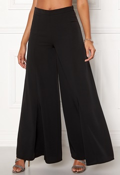 Y.A.S Hinta Flared Pant Black Bubbleroom.se