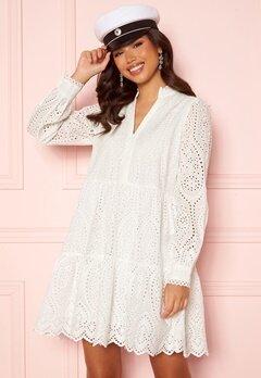 Y.A.S Holi LS Dress Star White Bubbleroom.se