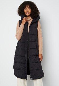 Y.A.S Lira Padded Vest Black bubbleroom.se