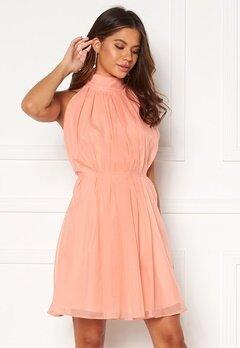 Y.A.S London Halterneck Dress Canteloupe Bubbleroom.se