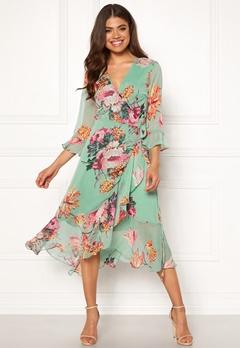Y.A.S Malla 3/4 Dress Granite Green Bubbleroom.se