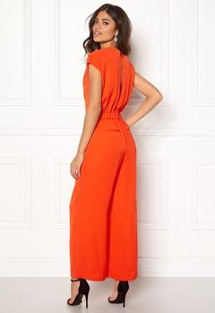 Y.A.S Mamba S/S Jumpsuit Orange.com Bubbleroom.se