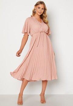 Y.A.S Manna 2/4 Midi Dress Blush bubbleroom.se