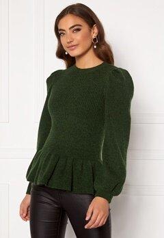 Y.A.S Marilyn LS Knit Pullover Sycamore Bubbleroom.se
