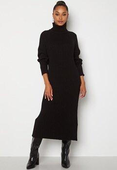 Y.A.S Mavi LS Knit Dress Black Bubbleroom.se