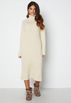 Y.A.S Mavi LS Knit Dress Eggnog Bubbleroom.se