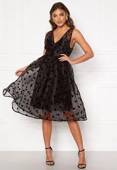 Y.A.S Olivia Spencer Dress Black Bubbleroom.se