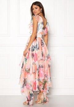 Y.A.S Pallida S/S Dress Star White / Multi Bubbleroom.se