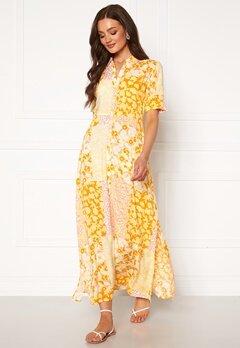 Y.A.S Patcha SS Ankle Dress Golden Haze Bubbleroom.se