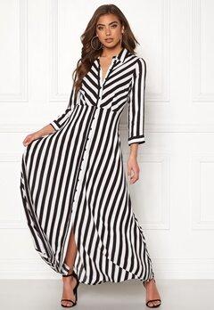 Y.A.S Savanna Long Shirt Dress Black Bubbleroom.se