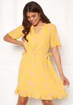 Y.A.S Sunni SS Mini Dress Cameo Rose Bubbleroom.se