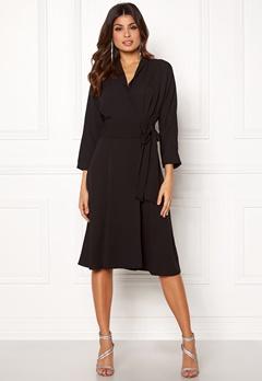 Y.A.S Unika LS Dress Black Bubbleroom.se