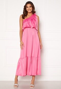 Y.A.S Victoria OS Ankle Dress Azalea Pink Bubbleroom.se