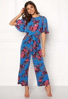 Y.A.S Wadaya Jumpsuit Strong Blue Bubbleroom.se