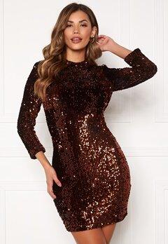 Y.A.S Whitney 2/4 Dress Black Bubbleroom.se