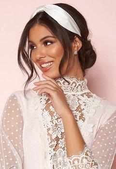 Zetterberg Couture Hairband Silk Ivory Bubbleroom.se
