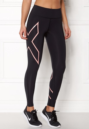 2XU Bonded Compression Tights Blk/Clp L
