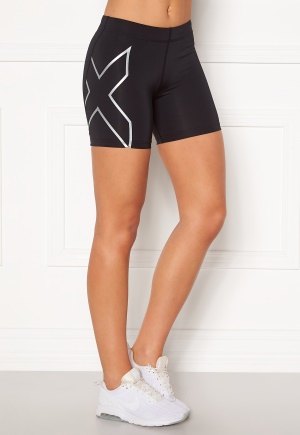 2XU Compression 5 inch Shorts BLK/SIL XS